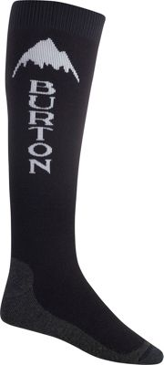 Burton Mens Emblem Sock S - Black - Burton Men's Legwear/Socks