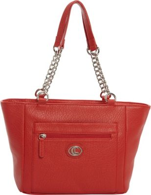 Aurielle-Carryland St. Petersburg Tote Red - Aurielle-Carryland Manmade Handbags