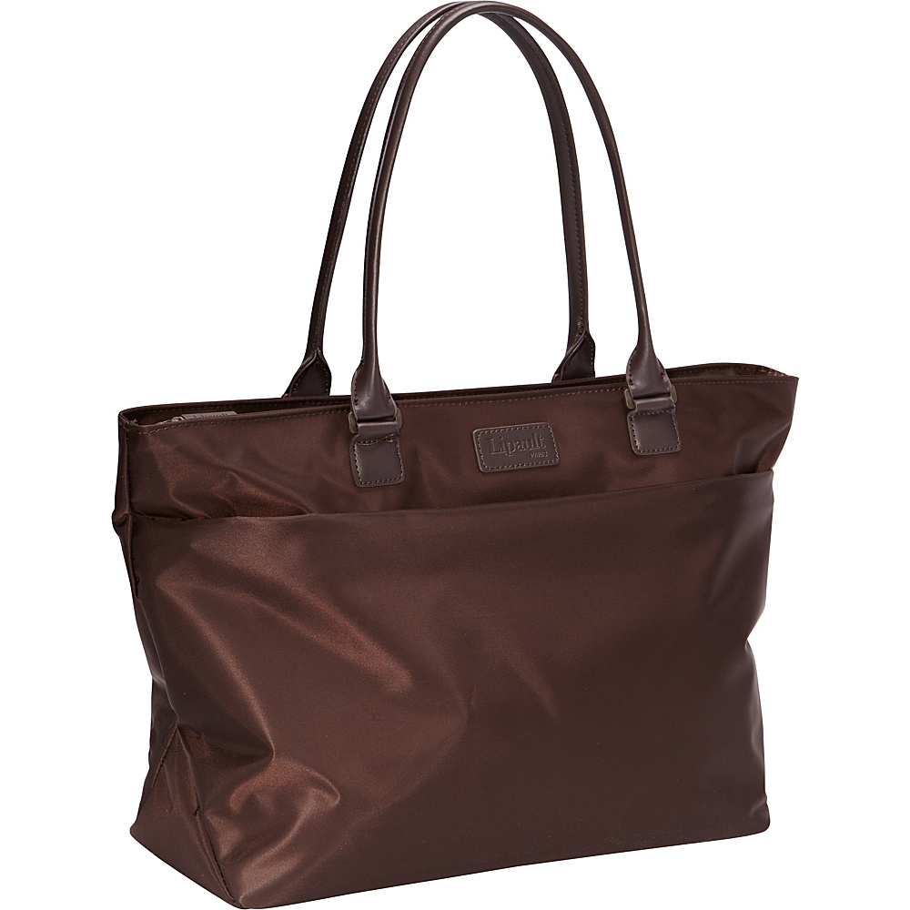 Lipault Paris Shopping Bag Discontinued Colors Espresso Lipault Paris Luggage Totes and Satchels