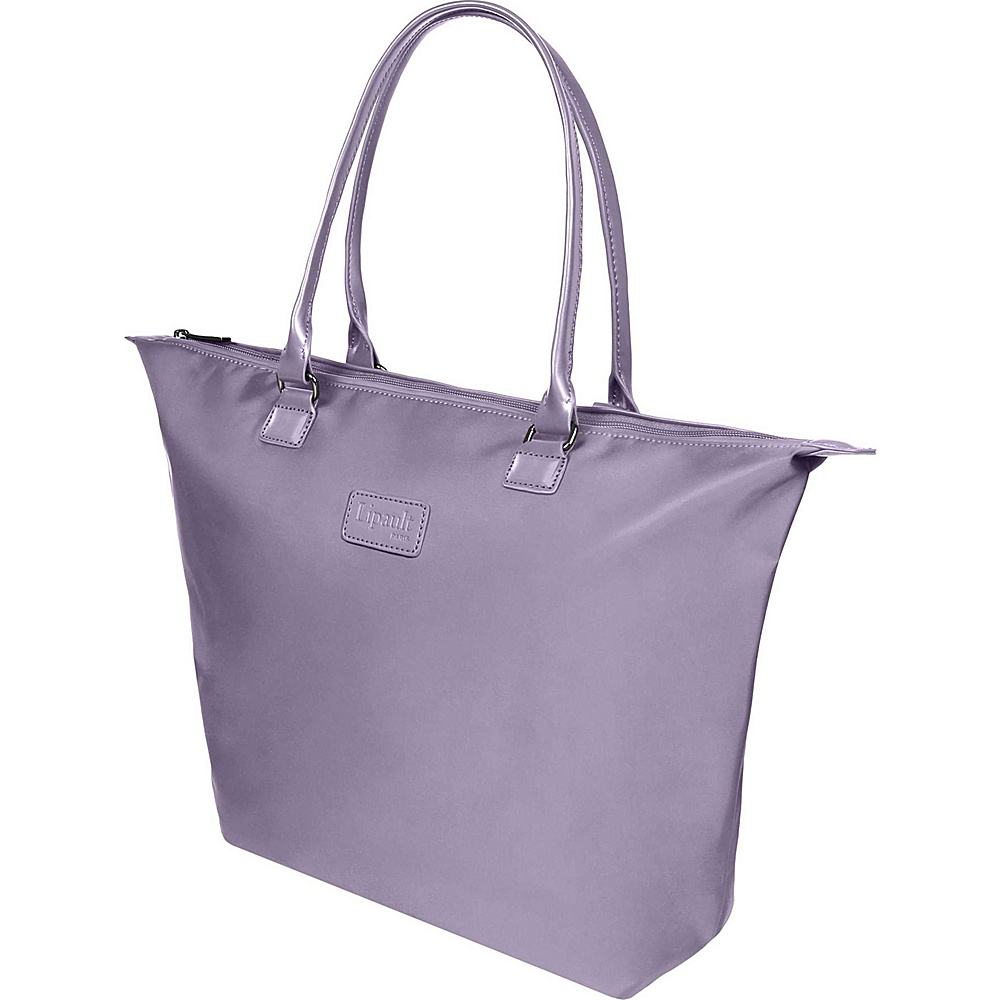 Lipault Paris Tote Bag Medium Dark Lavender Lipault Paris Luggage Totes and Satchels