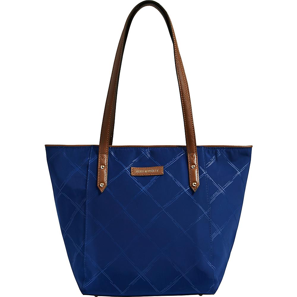Vera Bradley Preppy Poly Small Ella Tote Evening Sky - Vera Bradley Fabric Handbags