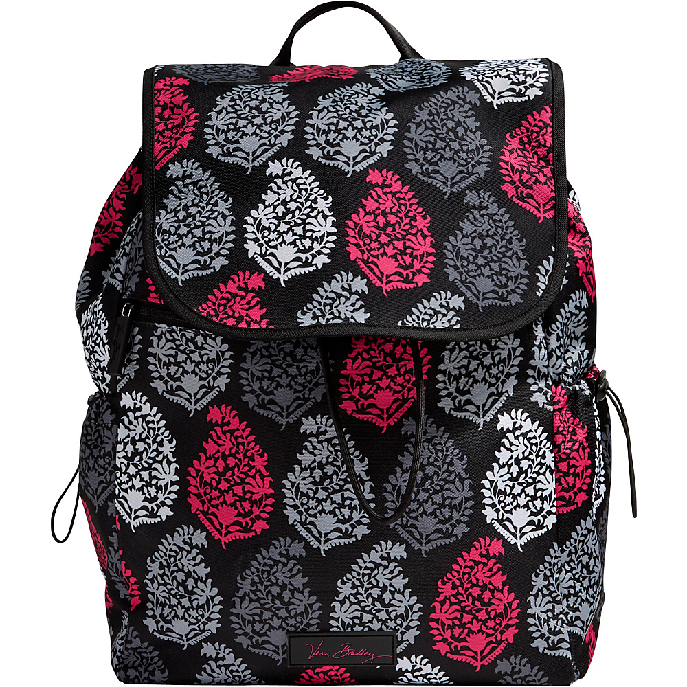 Vera Bradley Lighten Up Drawstring Backpack Northern Lights Vera Bradley Fabric Handbags
