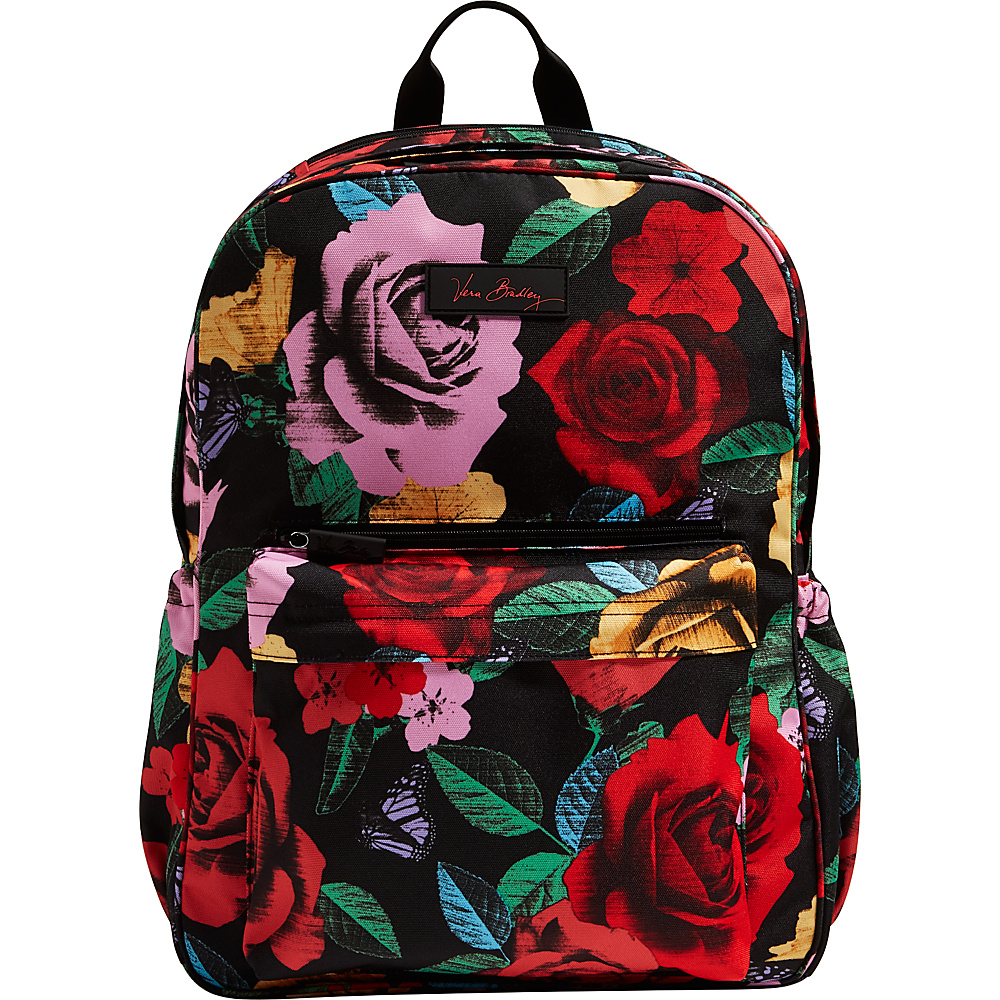 Vera Bradley Lighten Up Grande Laptop Backpack Havana Rose - Vera Bradley Business & Laptop Backpacks - Backpacks, Business & Laptop Backpacks