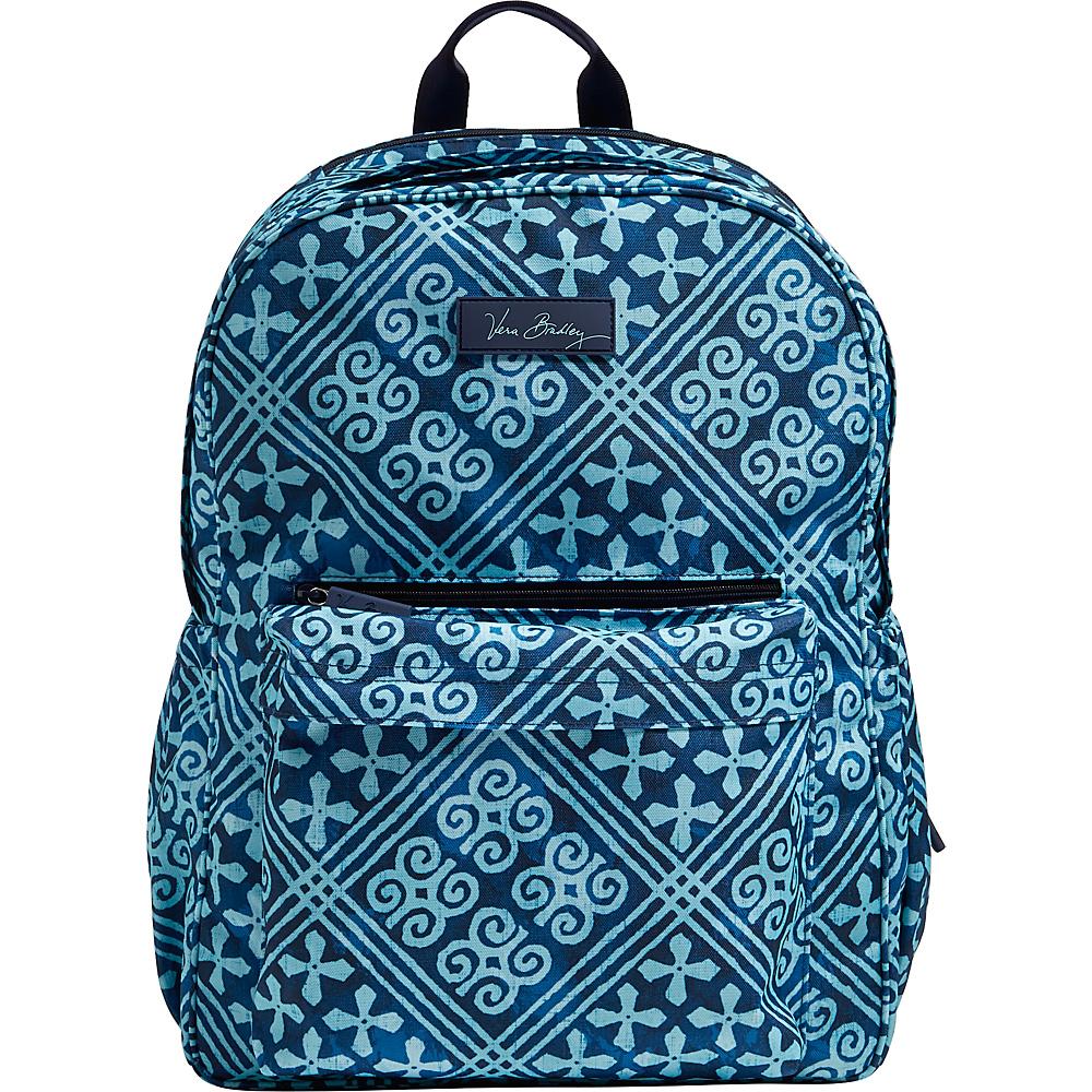Vera Bradley Lighten Up Grande Laptop Backpack Cuban Tiles - Vera Bradley Business & Laptop Backpacks - Backpacks, Business & Laptop Backpacks