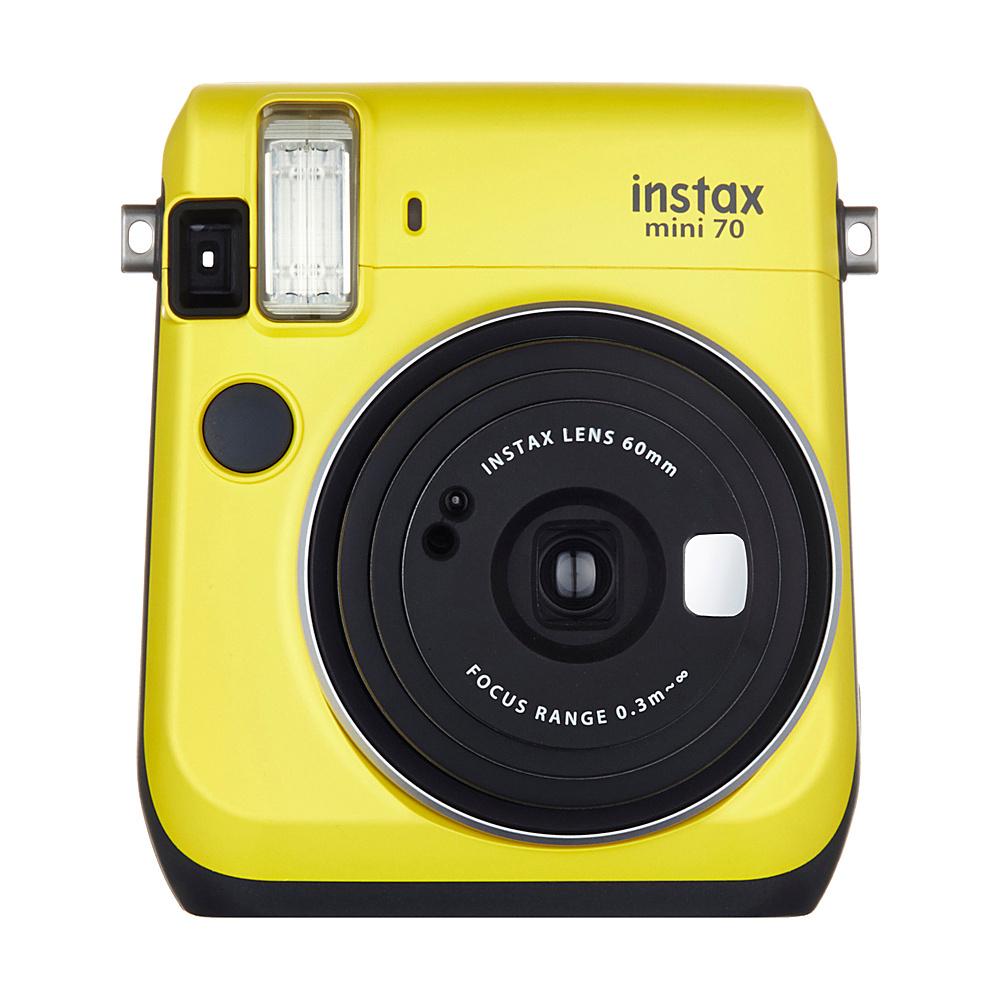 Fujifilm Instax Mini 70 Camera Canary Yellow - Fujifilm Cameras