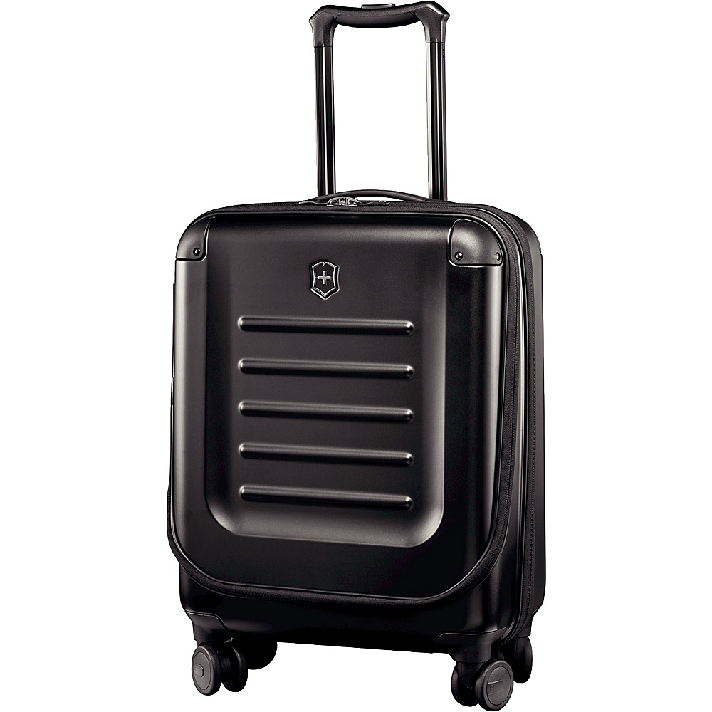 Victorinox Spectra 2.0 Expandable Global Carry On Black - Victorinox Softside Carry-On