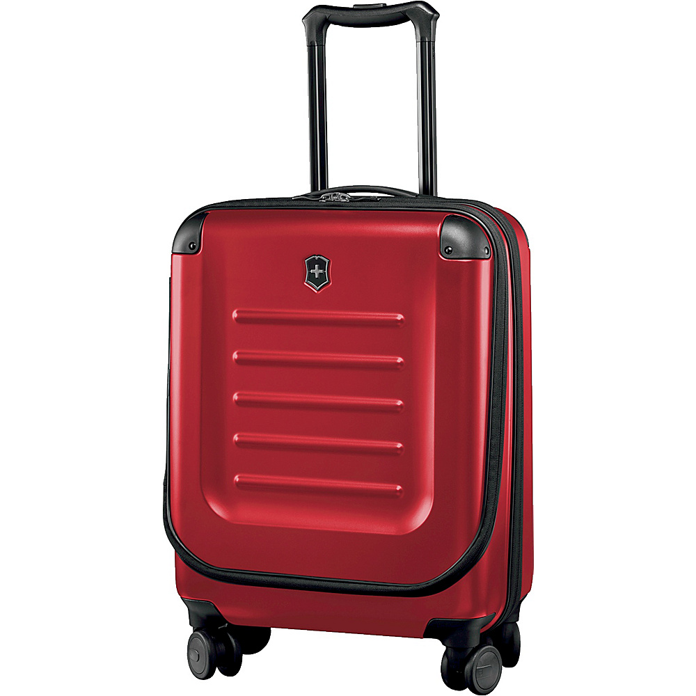 Victorinox Spectra 2.0 Expandable Global Carry On Red - Victorinox Softside Carry-On