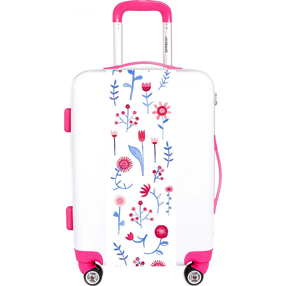Ugo Bags Hayfever Nic Squirrel 22 Luggage White Ugo Bags Hardside Checked