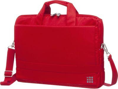 Moleskine Device Bag, 15.4 inch, Horizontal Scarlet Red - Moleskine Non-Wheeled Business Cases