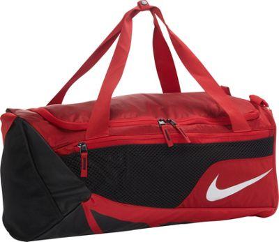 Nike Vapor Max Air Duffel Medium Gym Red/Black/Metallic Silver - Nike Gym Duffels