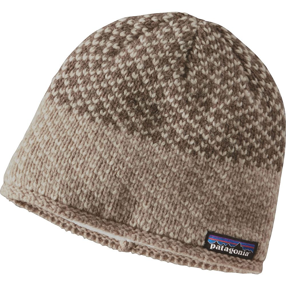 Patagonia Ws Beatrice Beanie One Size - Beatrice Birds: Ash Tan - Patagonia Hats/Gloves/Scarves - Fashion Accessories, Hats/Gloves/Scarves