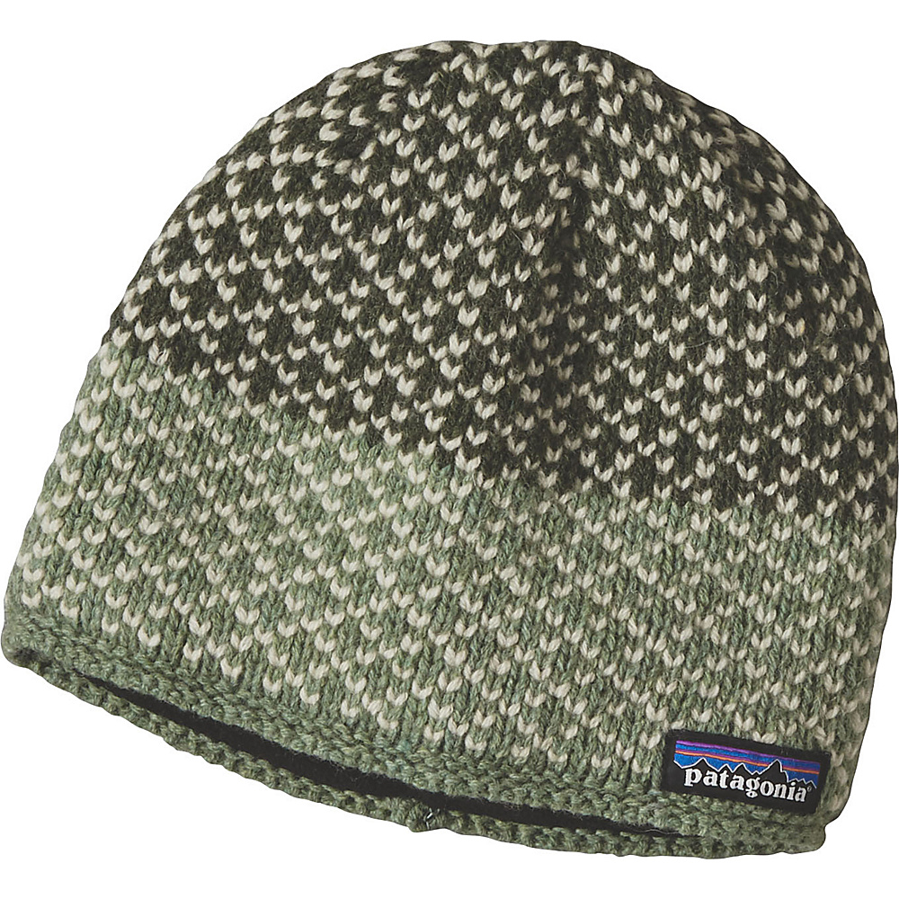 Patagonia Ws Beatrice Beanie One Size - Beatrice Birds: Industrial Green - Patagonia Hats/Gloves/Scarves - Fashion Accessories, Hats/Gloves/Scarves