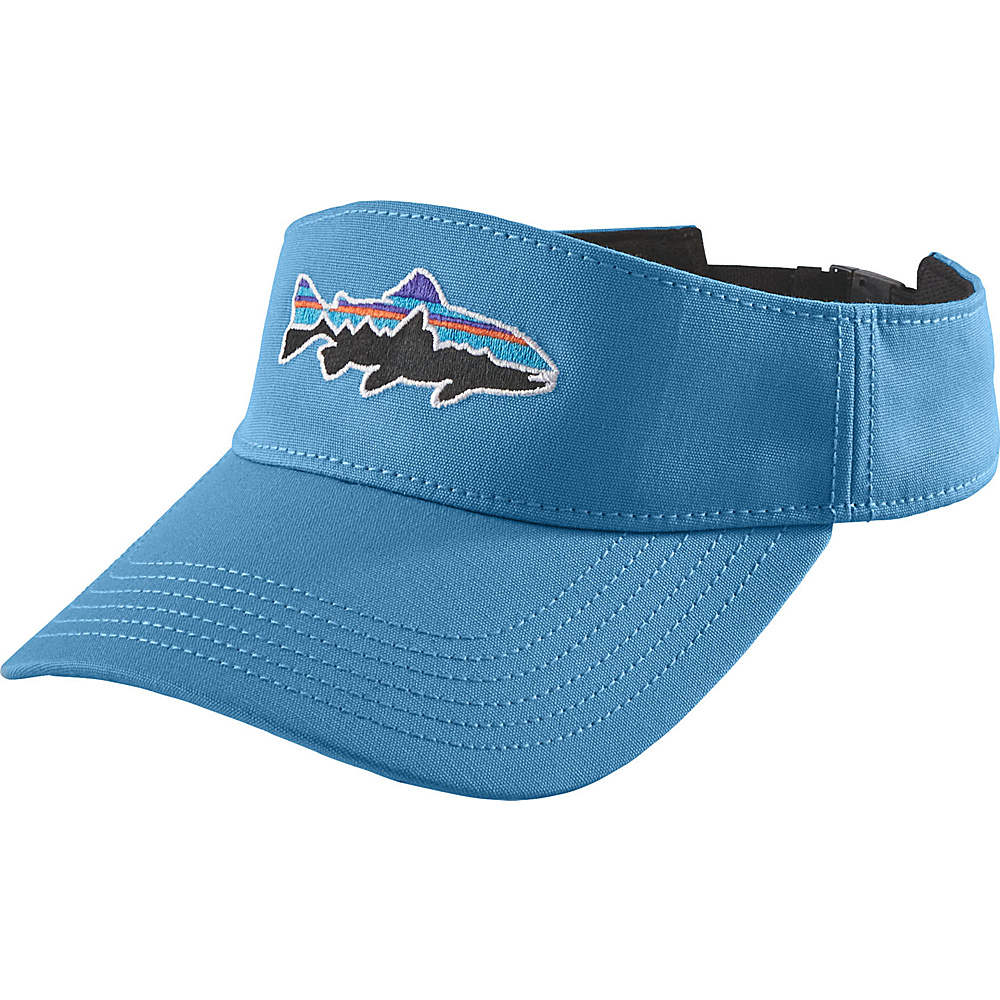 Patagonia Fitz Roy Trout Visor One Size - Radar Blue - Patagonia Hats/Gloves/Scarves - Fashion Accessories, Hats/Gloves/Scarves