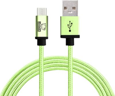 Rhino USB Type C Male to USB Type A 2 meter Green - Rhino Electronic Accessories