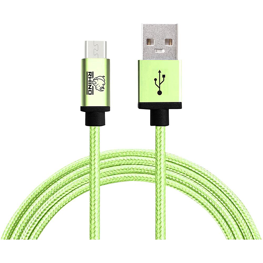 Rhino USB Type C Male to USB Type A 2 meter Green Rhino Electronic Accessories