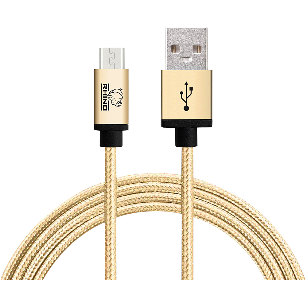 Rhino USB Type C Male to USB Type A 2 meter Gold Rhino Electronic Accessories