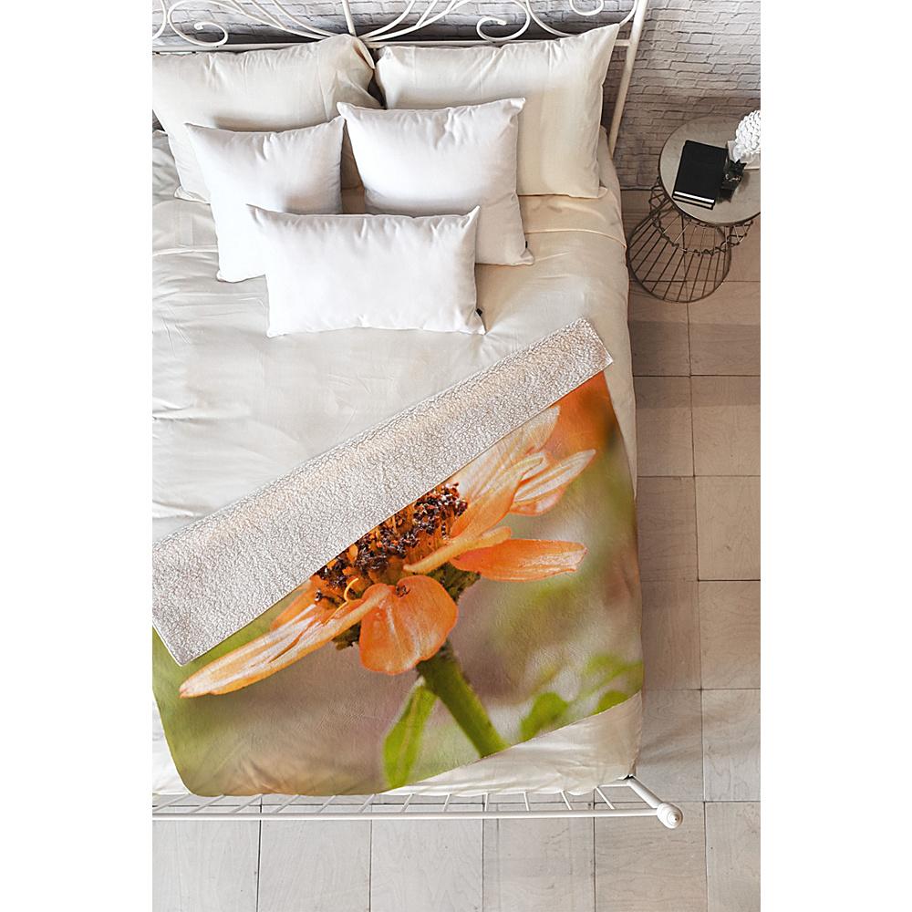 Deny Designs Barbara Sherman Sherpa Fleece Blanket Wildflower - Beauty - Deny Designs Travel Pillows & Blankets