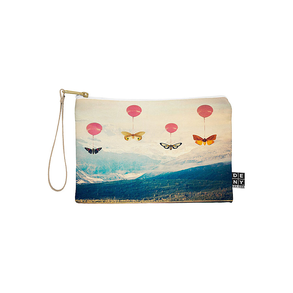 DENY Designs Maybe Sparrow Photography Pouch Bright Red Passage DENY Designs Travel Wallets