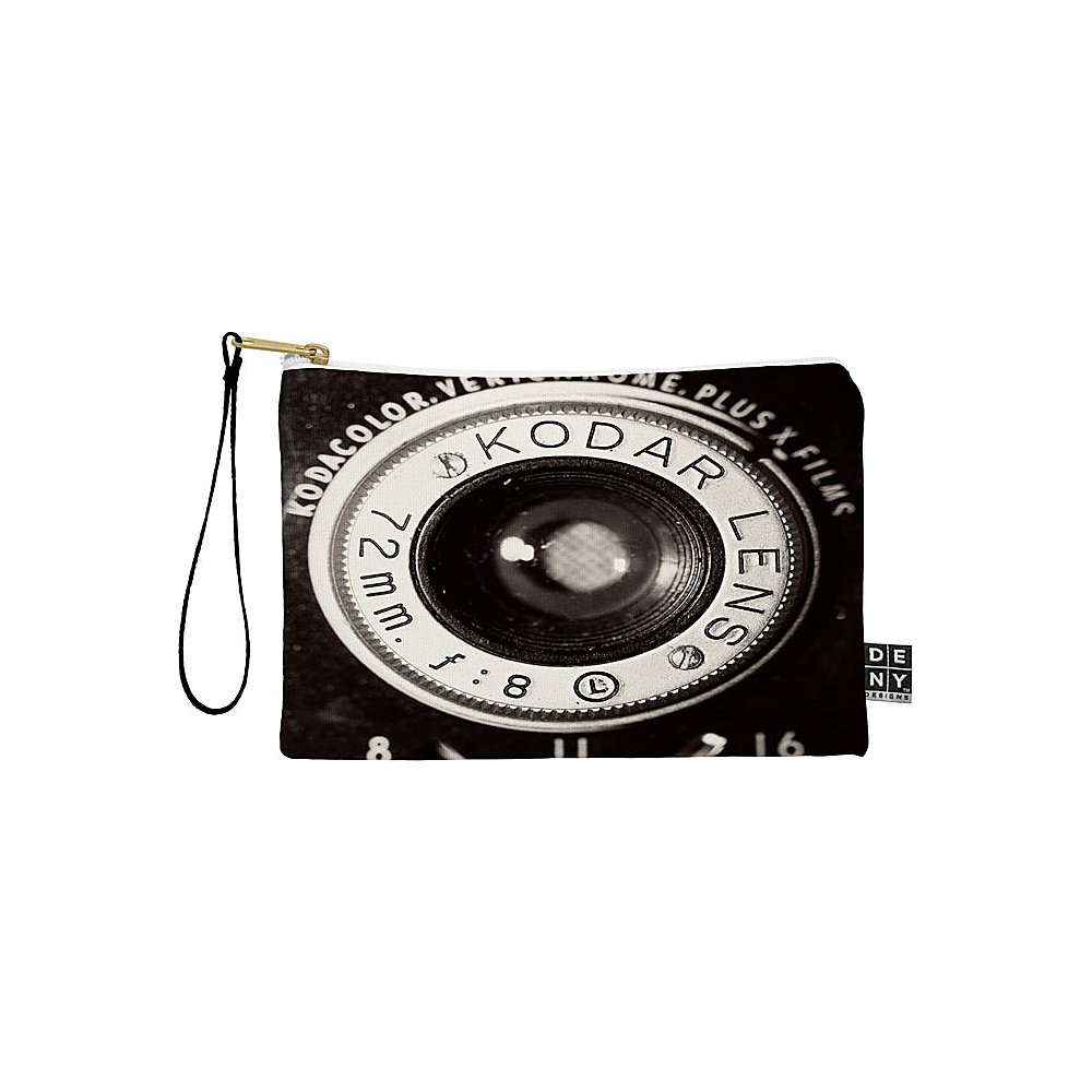 DENY Designs Maybe Sparrow Photography Pouch Vintage Black Vintage Kodak DENY Designs Travel Wallets