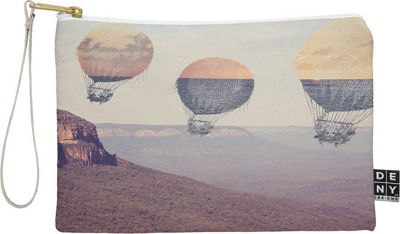 Deny Designs Maybe Sparrow Photography Pouch Desert - Canyon Balloons - Deny Designs Travel Wallets