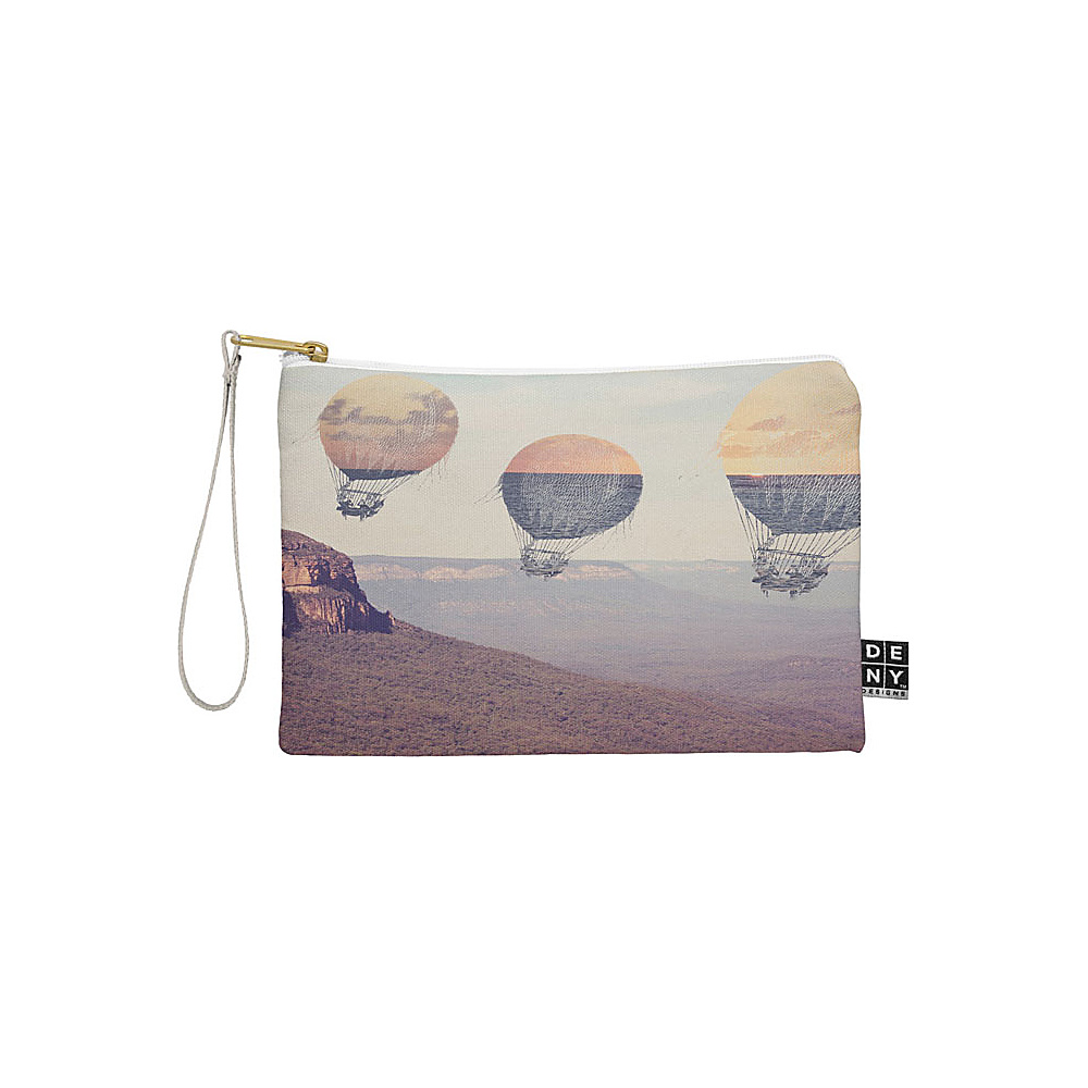 DENY Designs Maybe Sparrow Photography Pouch Desert Canyon Balloons DENY Designs Travel Wallets
