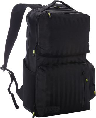 M-Edge Bolt by M-Edge Backpack with Battery Black - M-Edge Business & Laptop Backpacks