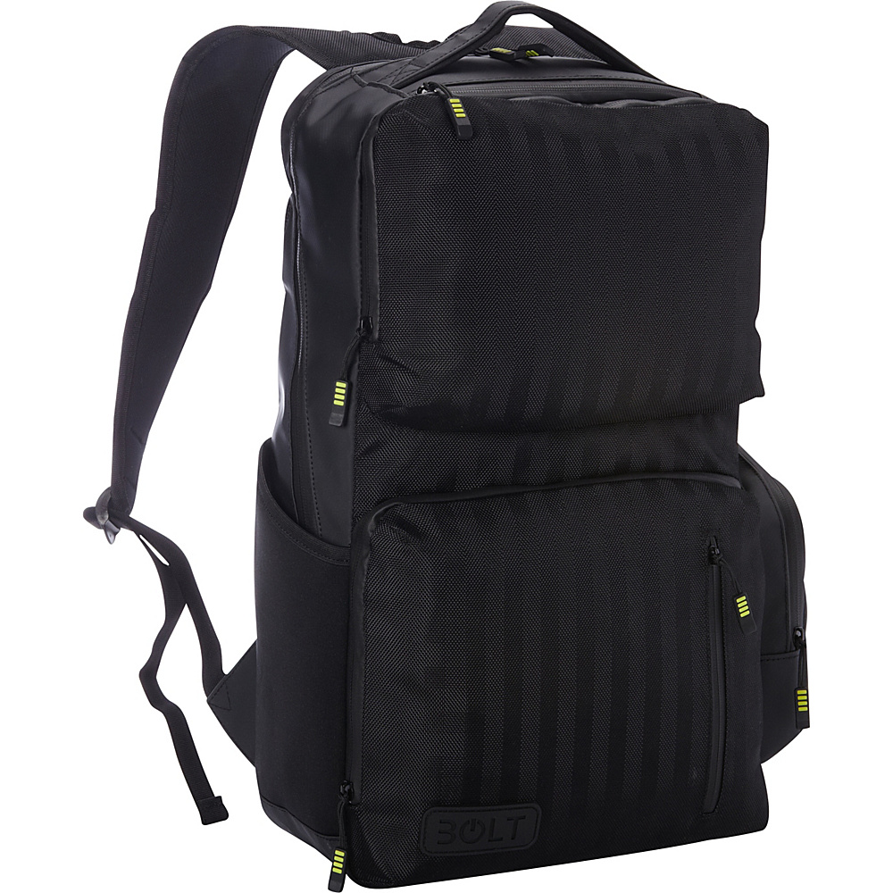 M Edge Bolt by M Edge Backpack with Battery Black M Edge Business Laptop Backpacks