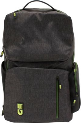 M-Edge Bolt by M-Edge Backpack with Battery Heathered Grey - M-Edge Business & Laptop Backpacks