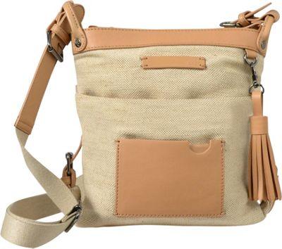 Sherpani Luna Jute Everyday Crossbody Canvas - Sherpani Fabric Handbags
