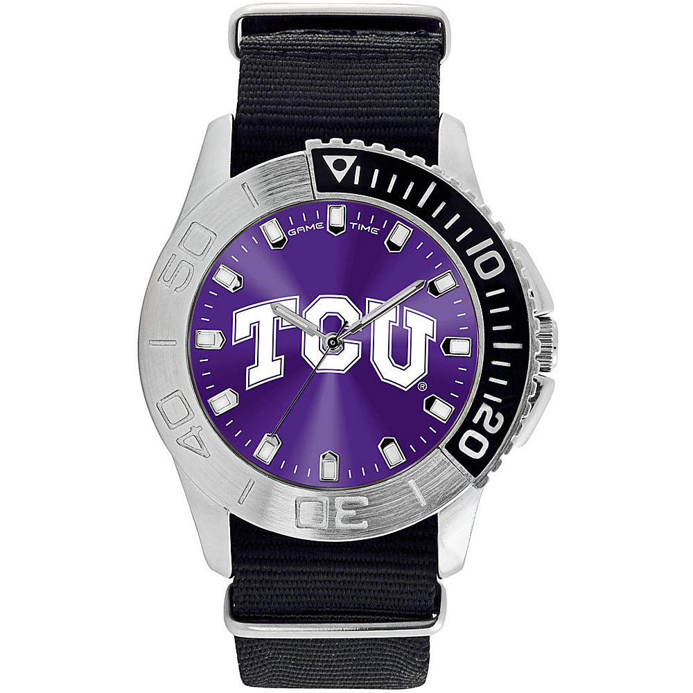 Game Time Mens Starter-College Watch Texas Christian University - Game Time Watches