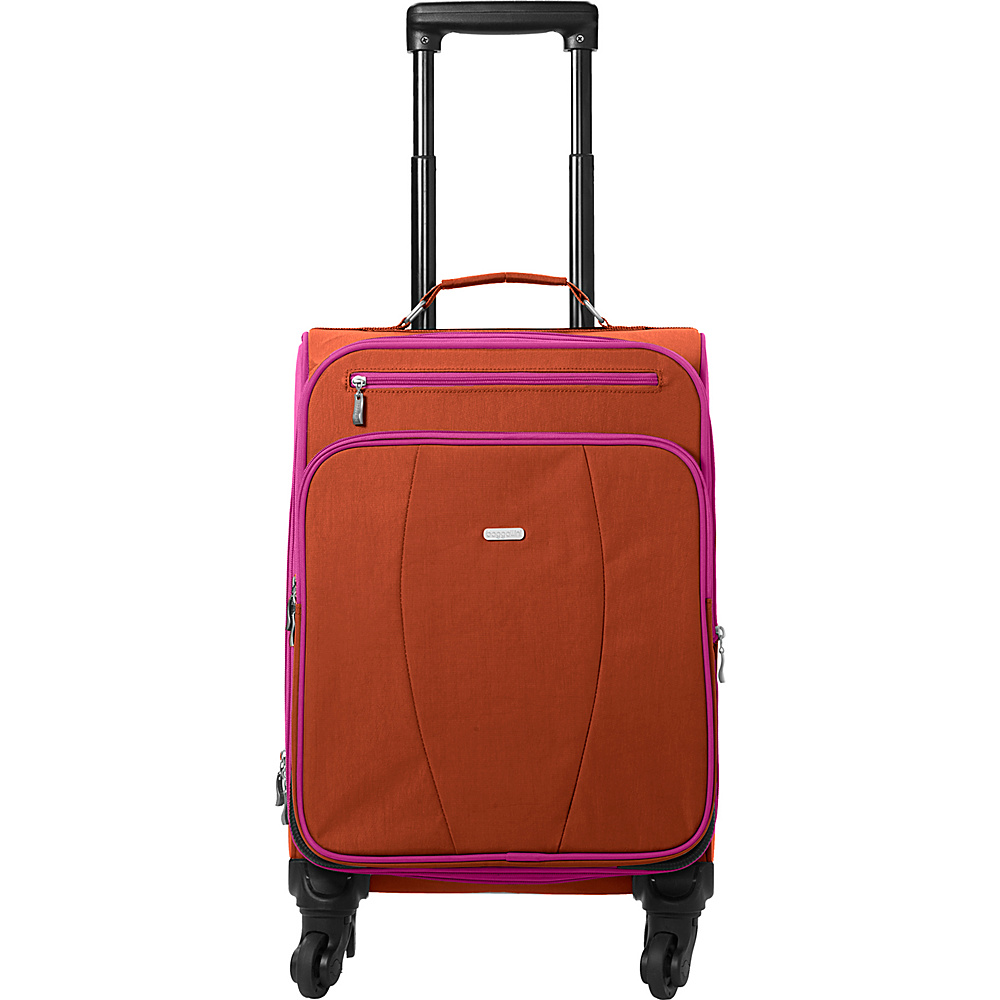 baggallini Getaway Roller - Retired Colors Papaya - baggallini Small Rolling Luggage