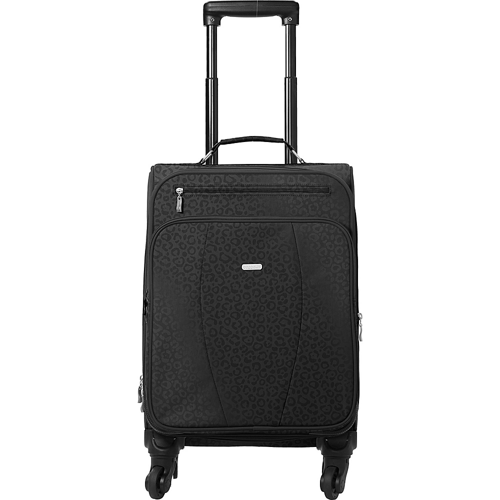 baggallini Getaway Roller - Retired Colors Black/Cheetah - baggallini Softside Carry-On - Luggage, Softside Carry-On