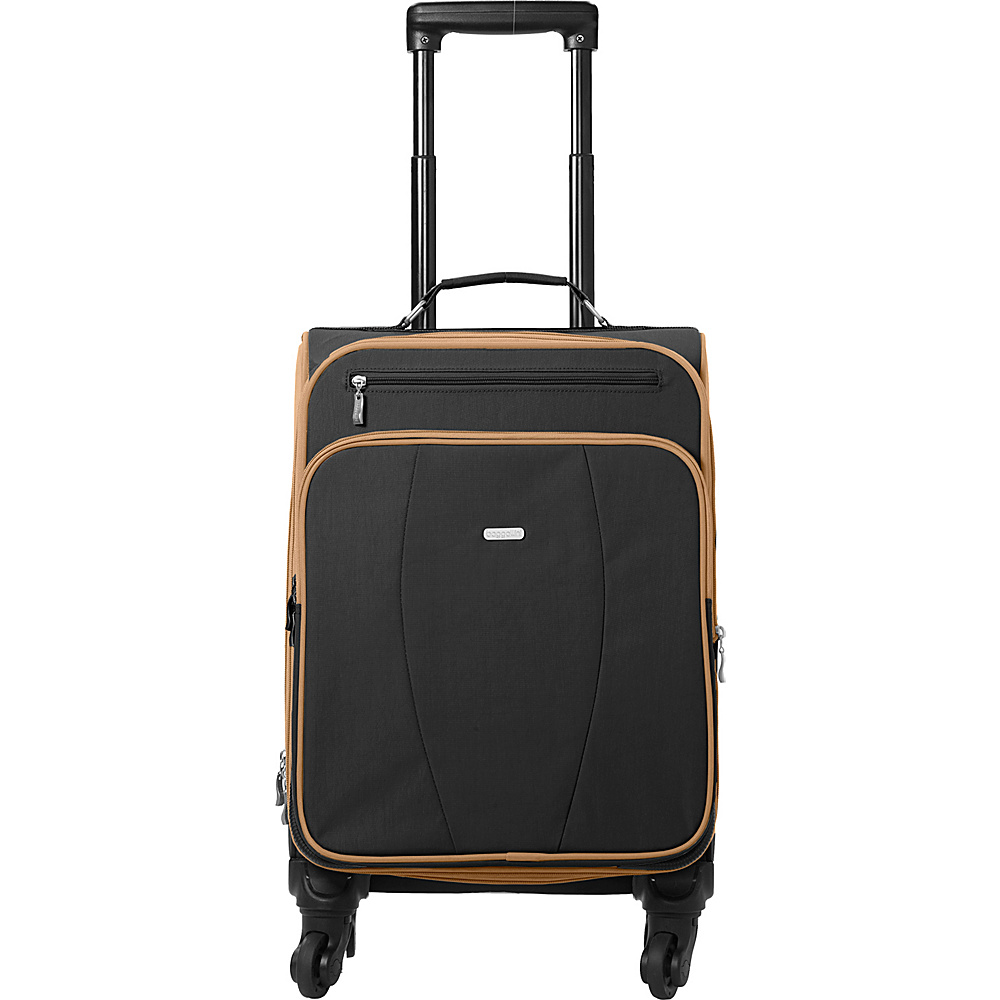 baggallini Getaway Roller - Retired Colors Black/Sand - baggallini Softside Carry-On - Luggage, Softside Carry-On