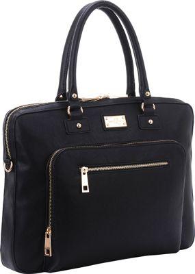 Sandy Lisa London Shoulder Bag Black - Sandy Lisa Non-Wheeled Business Cases
