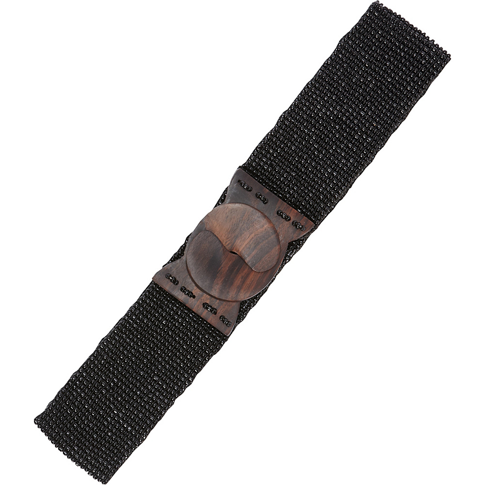 TLC you Stretch Beaded Belt Black TLC you Other Fashion Accessories