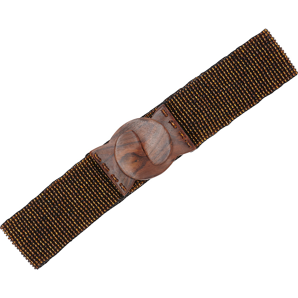 TLC you Stretch Beaded Belt Bronze TLC you Other Fashion Accessories