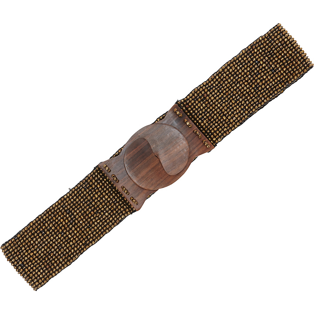 TLC you Stretch Beaded Belt Dull Gold TLC you Other Fashion Accessories