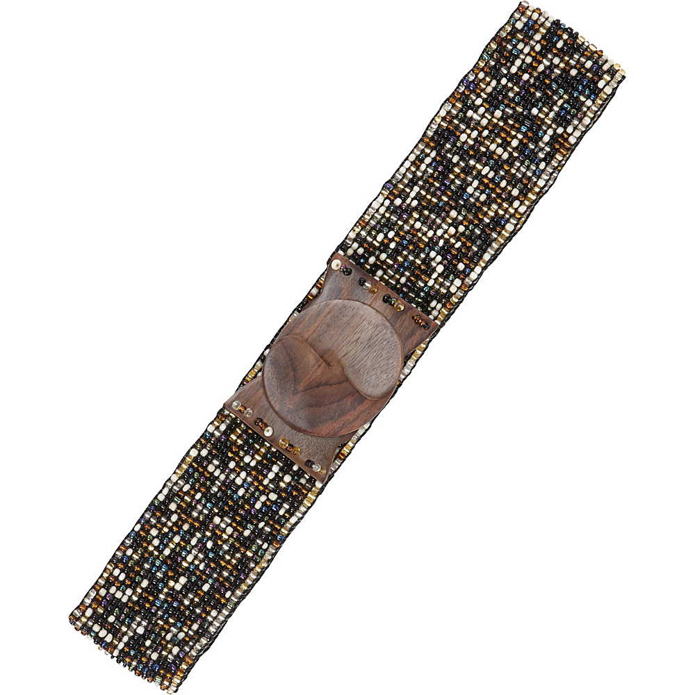TLC you Stretch Beaded Belt Natural Multi TLC you Other Fashion Accessories