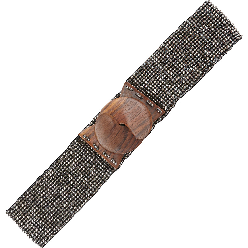 TLC you Stretch Beaded Belt Dull Platinum TLC you Other Fashion Accessories