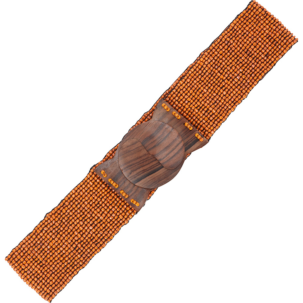 TLC you Stretch Beaded Belt Sunset Orange TLC you Other Fashion Accessories