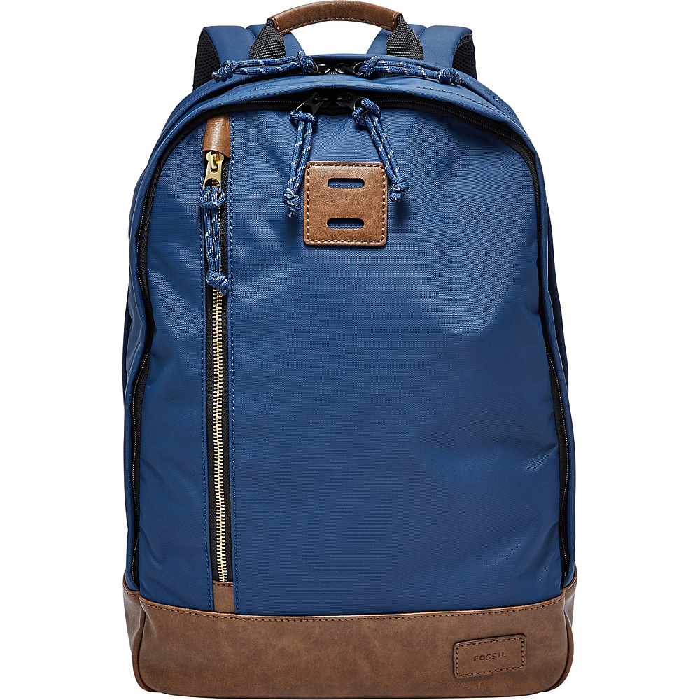 Fossil Sportsman Backpack Navy - Fossil School & Day Hiking Backpacks - Backpacks, School & Day Hiking Backpacks
