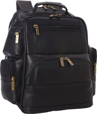 ClaireChase Executive Backpack Black - ClaireChase Business & Laptop Backpacks