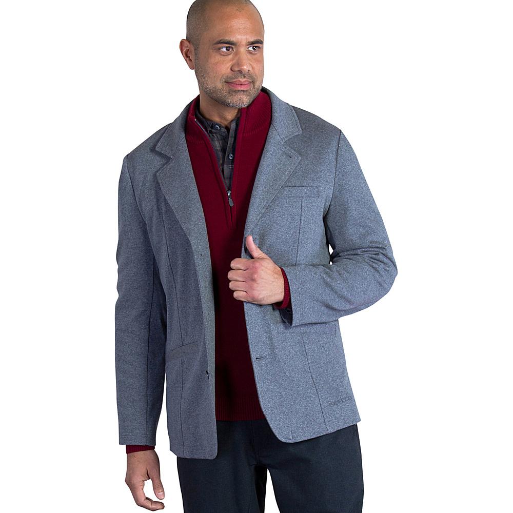 ExOfficio Mens Marco Blazer L - Dark Pebble Heather - ExOfficio Mens Apparel - Apparel & Footwear, Men's Apparel