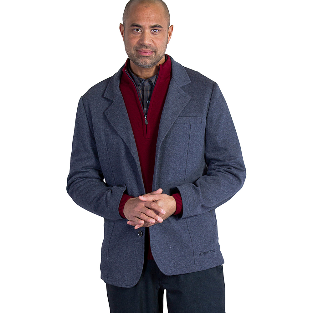 ExOfficio Mens Marco Blazer M - Black Heather - ExOfficio Mens Apparel - Apparel & Footwear, Men's Apparel