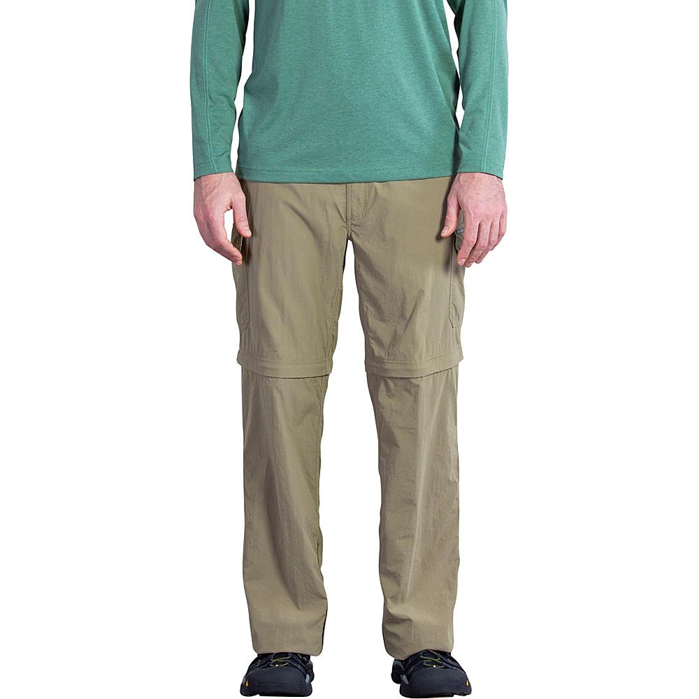ExOfficio Mens Amphi Convertible Pant 36 - Walnut - ExOfficio Mens Apparel - Apparel & Footwear, Men's Apparel