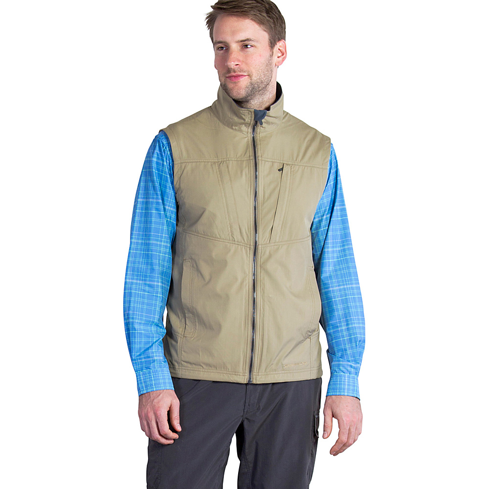 ExOfficio Mens FlyQ Vest M - Walnut - ExOfficio Mens Apparel - Apparel & Footwear, Men's Apparel