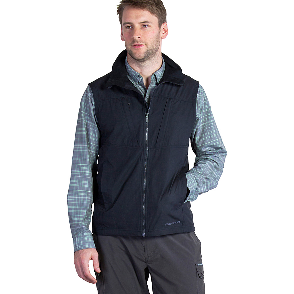 ExOfficio Mens FlyQ Vest M - Black - ExOfficio Mens Apparel - Apparel & Footwear, Men's Apparel