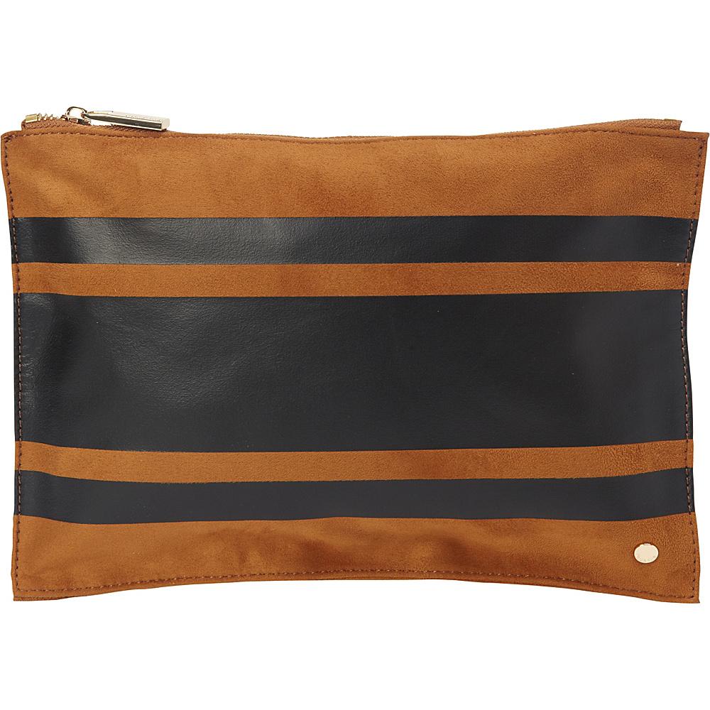 deux lux Lina Pouch Cognac deux lux Fabric Handbags
