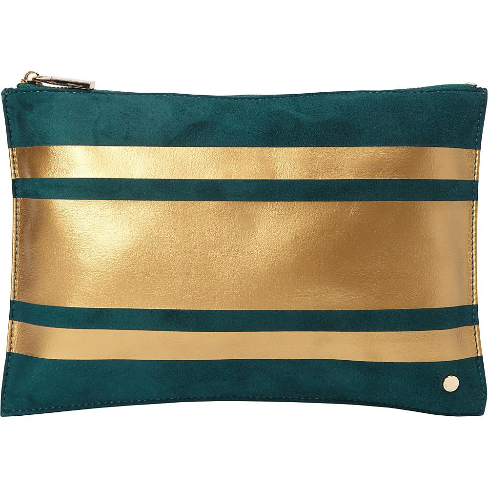 deux lux Lina Pouch Teal deux lux Fabric Handbags