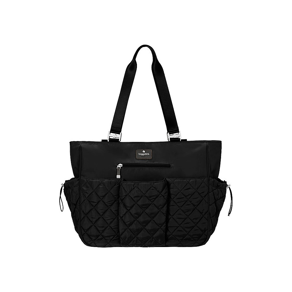 baggallini On The Go Baby Tote Black - baggallini Diaper Bags & Accessories - Handbags, Diaper Bags & Accessories